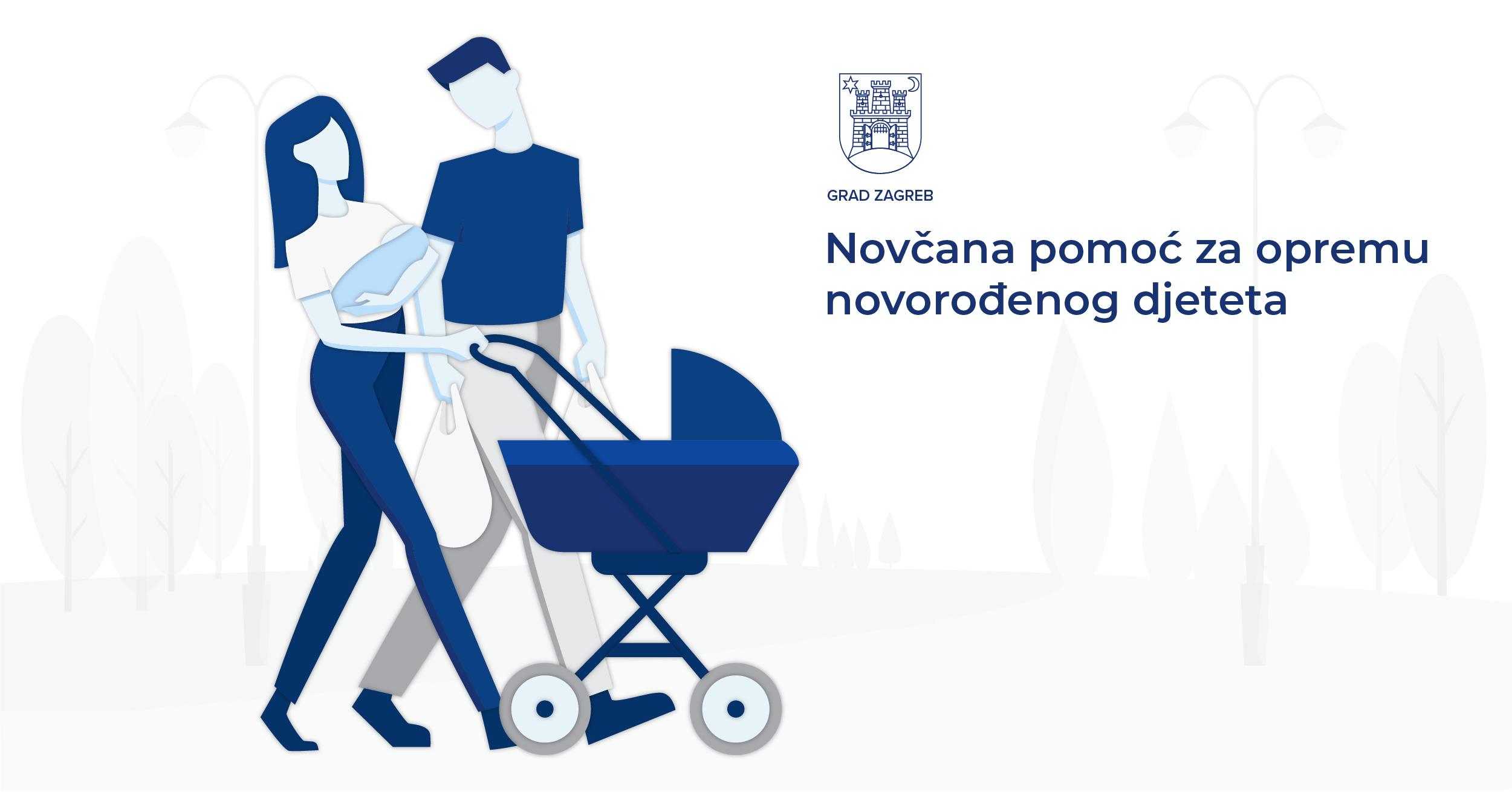 Započela isplata novčane pomoći za opremu novorođenčadi