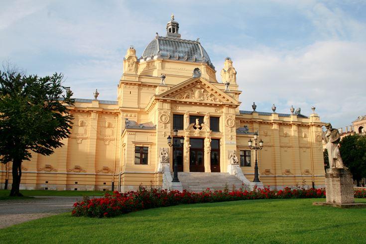 Umjetnicki Paviljon U Zagrebu Europska Poveznica Od Tradicije