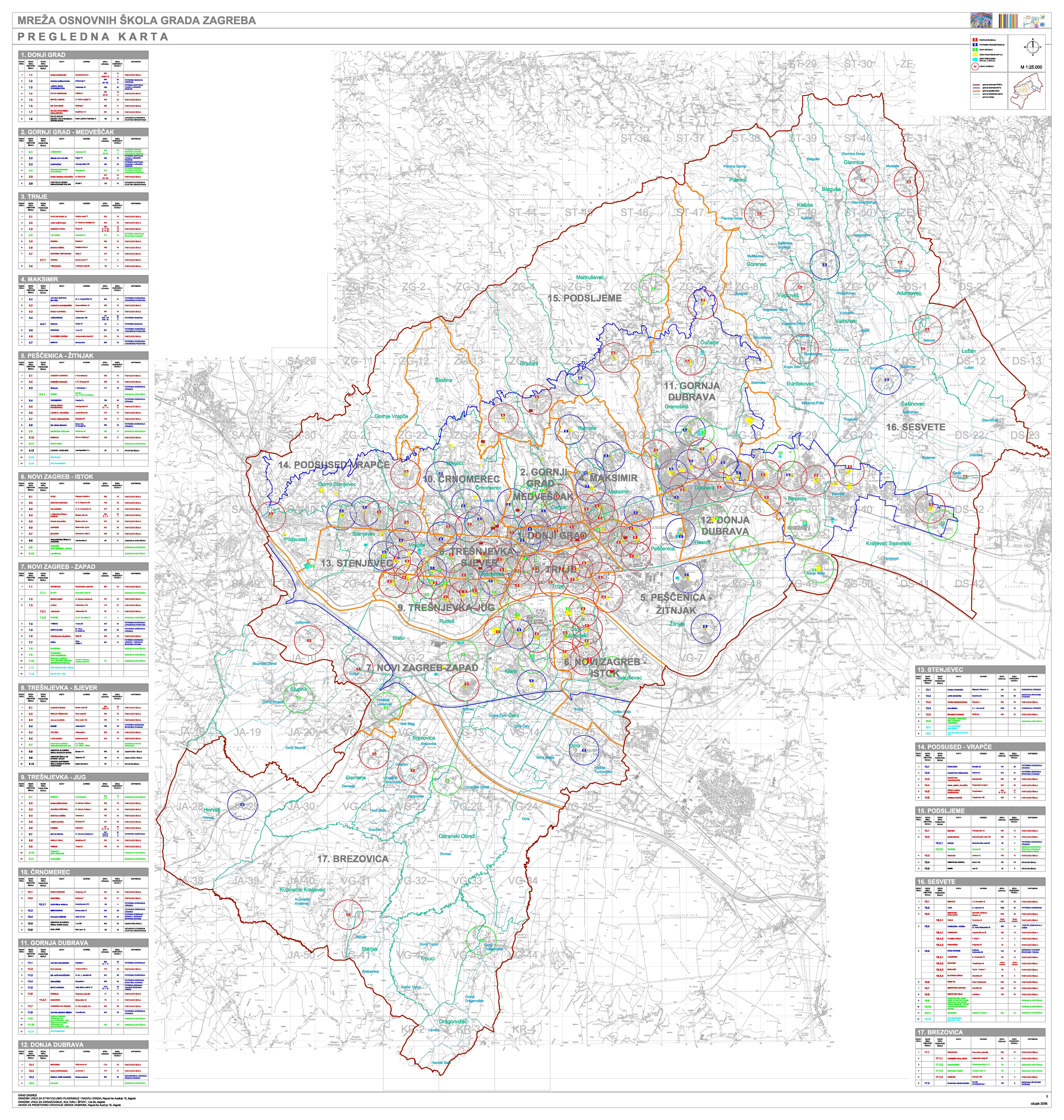 Grad zagreb slubene stranice pregledna karta altavistaventures Image collections